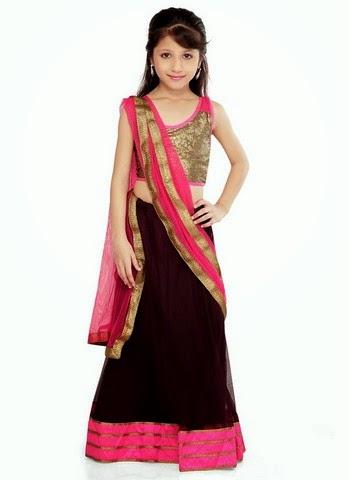 Ethnic Wear Dresses For Kids - Baby Girls Wedding Wear ...