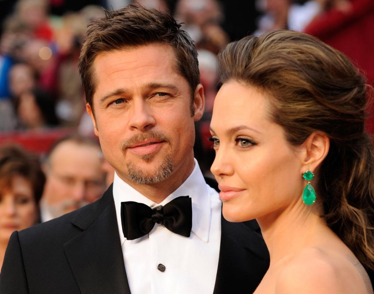 Brad Pit and Angelina Jolie| Famous Celebrity Bible