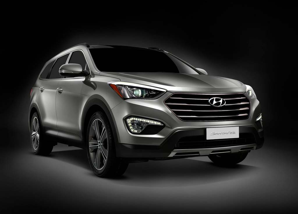 2013 hyundai santa fe review and pictures car review specification and pictures. Black Bedroom Furniture Sets. Home Design Ideas