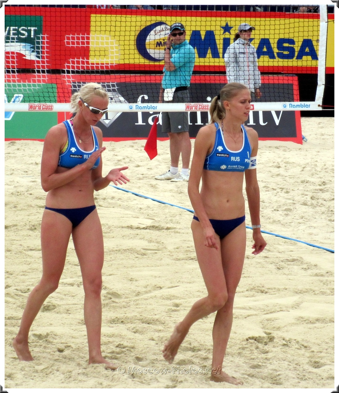 Russian Beach Volleyball Team at Moscow Tour 2010