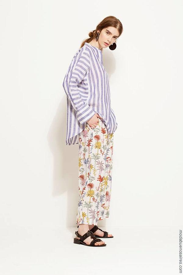 Camisas de moda mujer primavera verano 2018. Moda 2018 mujer.