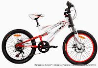 Sepeda Gunung Pacifc Viper Full Suspension 20 Inci