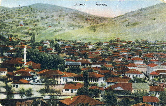 "Panorama of Bitola from 1915 issued by ""Apolon"" - Sofia. The postcard was not used."