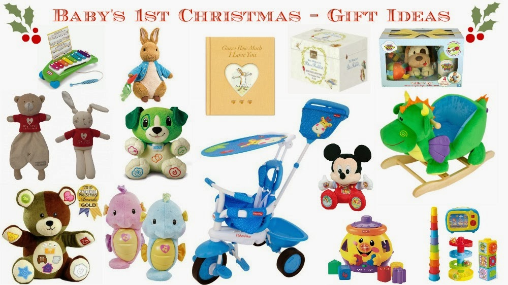 Baby's 1st Christmas - Unisex Gift Ideas ♥ | Dolly Dowsie