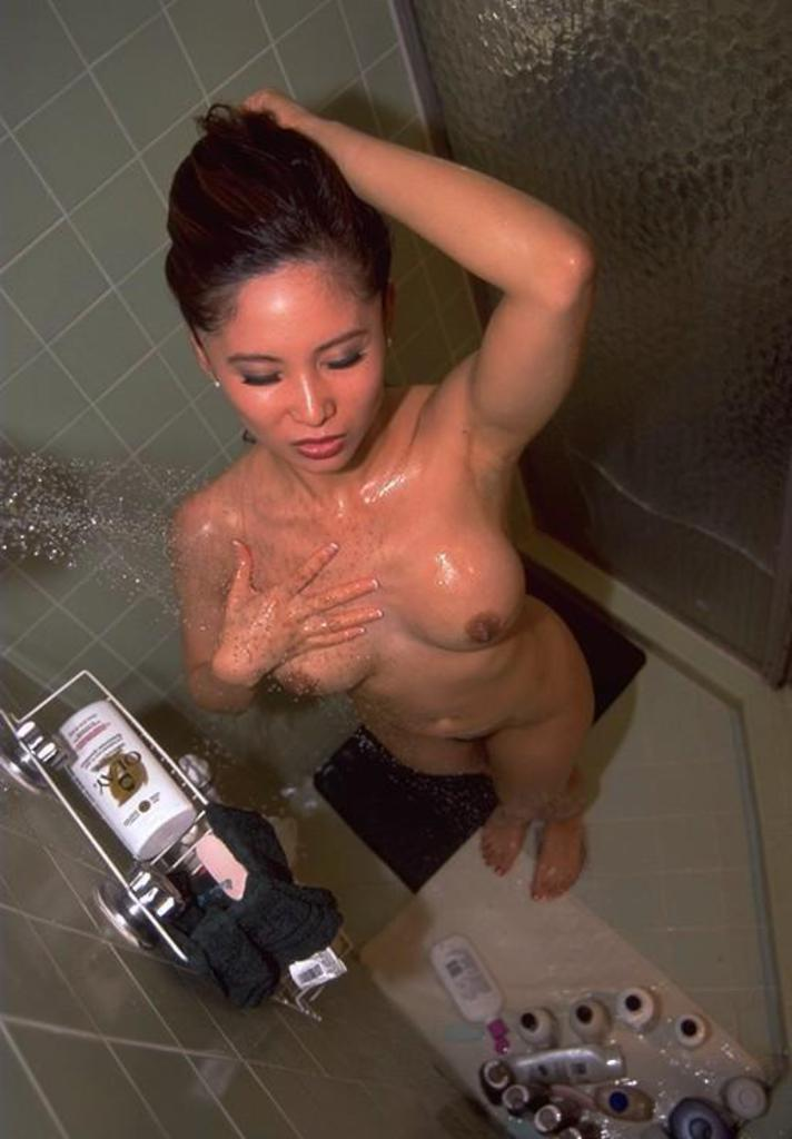 Shower chinese pussy