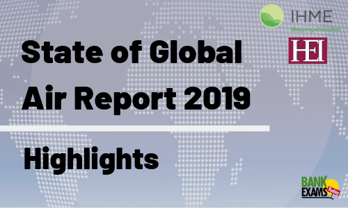 State of Global Air Report 2019: Highlights