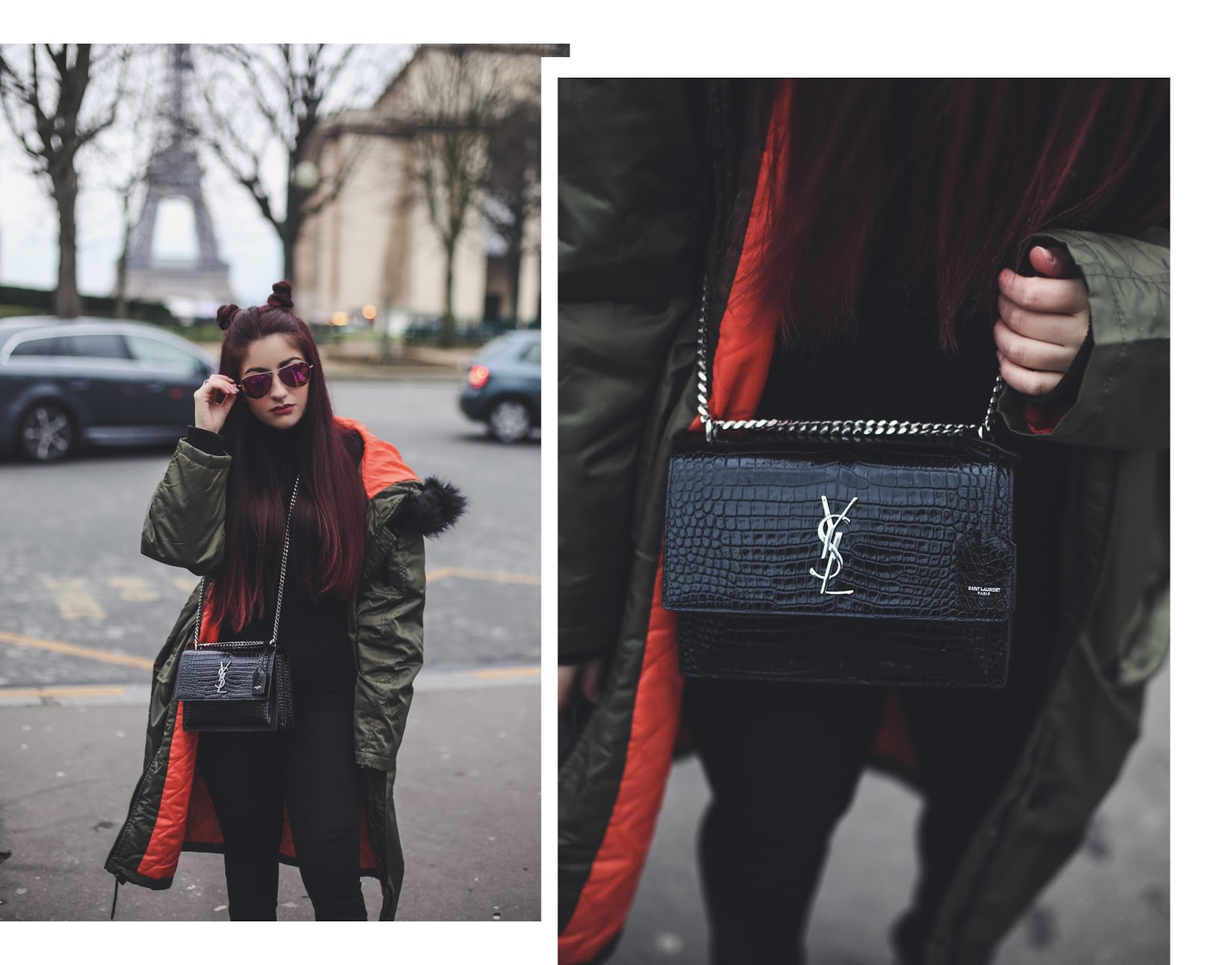 sac saint laurent sunset blog mode