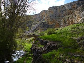Inicio del desfiladero del río Talegones