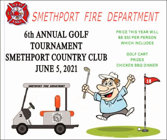 6-5 Smethport VFD Golf Tournament