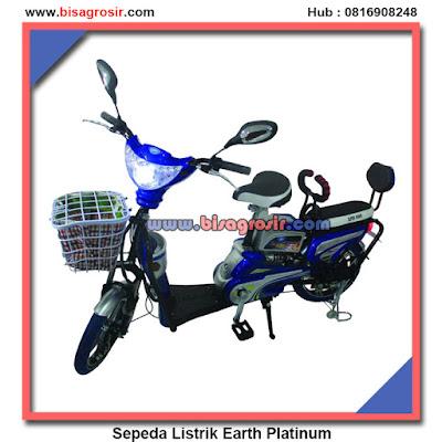 Sepeda Listrik Murah Super Rider Earth