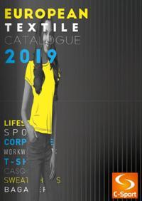 Catalogue European Textile 2019 avec Tarifs HT