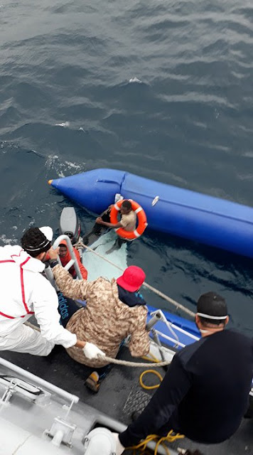 Photos: Ten African migrants perish, 290 rescued, 56 feared drowned including Nigerians in Mediterranean boat wreck