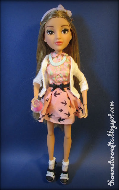 Adrienne Attoms doll review monster crafts blo