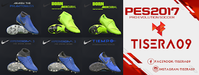 PES 2017 Nike Always Forward Pack by Tisera09