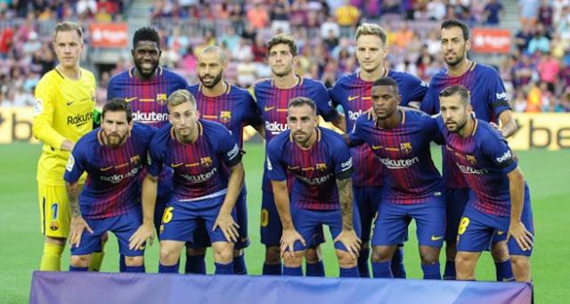 Daftar Pemain Barcelona 2017-2018