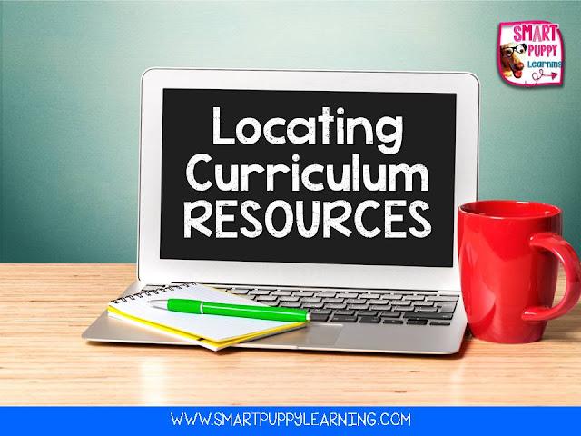 navigating and understanding district curriculum