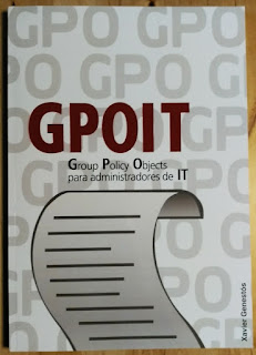 Portada GPOIT - Group Policy Objects para administradores de IT (Front)