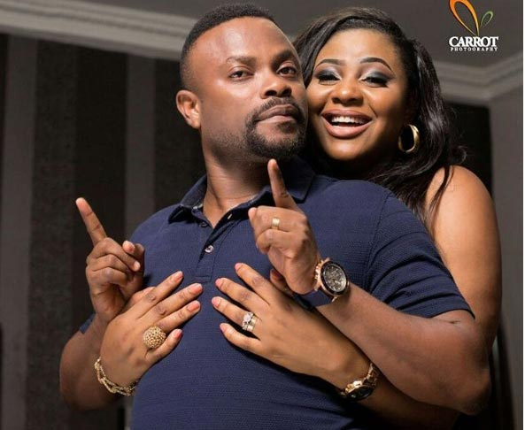 """King of my heart"" - Bishop Ime's wife hails actor on birthday"