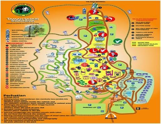 Peta Taman Safari