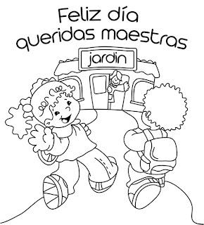 Dibujos Para El Día Del Maestro Para Colorear Dibujos Para Niños
