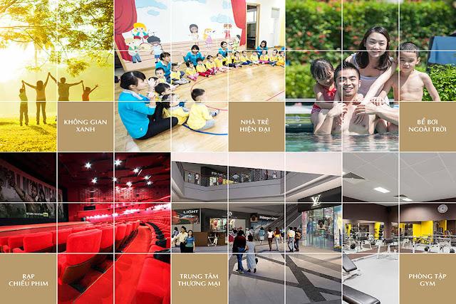 Những tiện ích dịch vụ thiết yếu và nhu cầu giải trí cho cư dân Imperial Plaza.