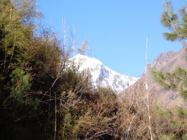Photos of the Manaslu trekking Scenery.