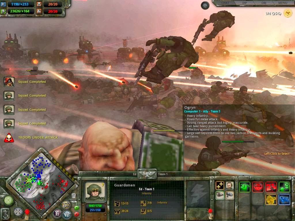 Dawn Of War Dark Crusade Free Download PC Game Full Version