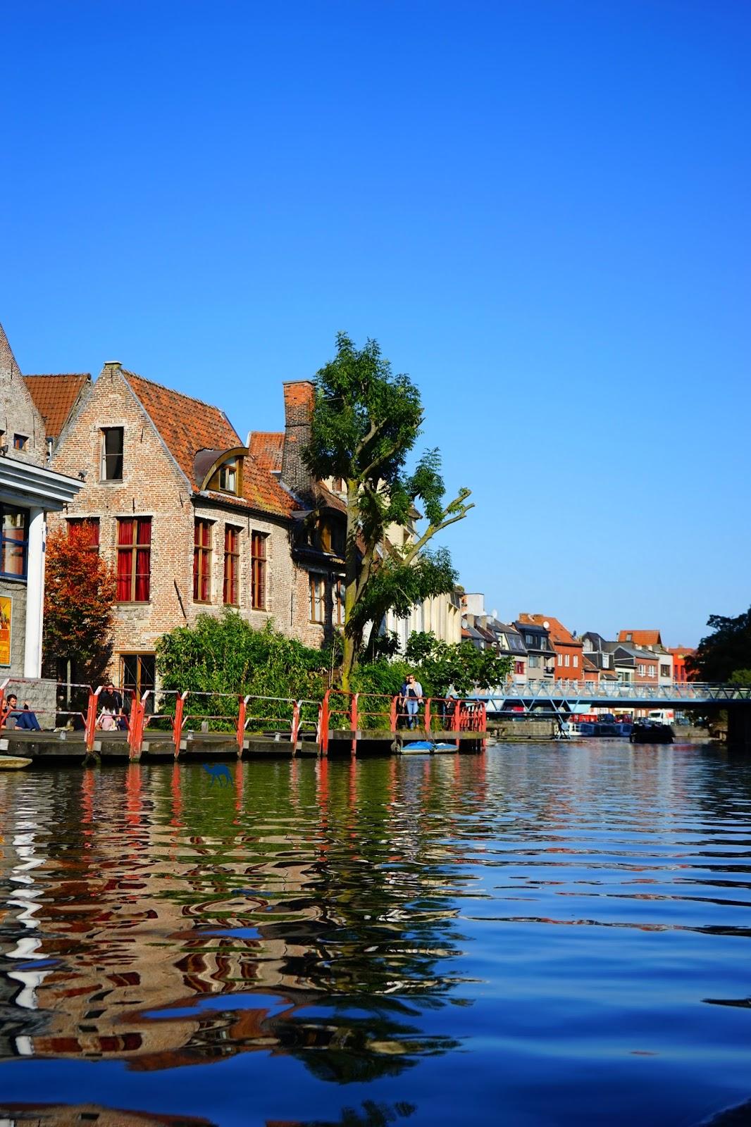 Le Chameau Bleu  - Blog Voyage Gand Belgique - Gand Tourisme - Canaux De Gand Belgique - Vacances à Gand