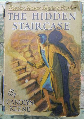 NANCY DREW THE HIDDEN STAIRCASE 1930A 1 FIRST EDITION FIRST PRINT W/DJ RARE