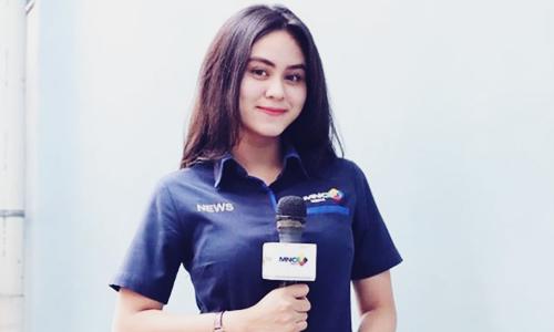 Biodata Dwinda Ratna Si Reporter MNC TV Cantik Istri Mas Pur Ojek