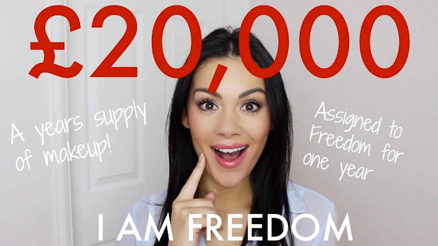 Freedom Makeup Competition with a prize of £20,000