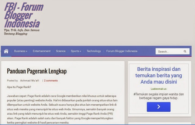Diarmail SEO Responsive Blogger Templates