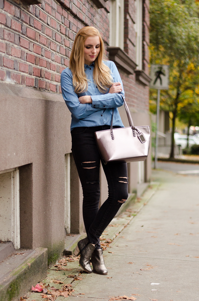 How to Style Black Skinny Jeans