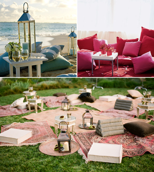 Weddings At Wilderness Ridge: Outdoor Lounge Trend