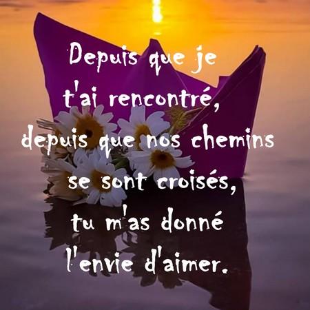 Texte Damour Mignon Et Romantique Messages Et Textes Damour