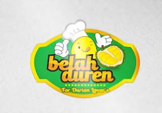 Logo Mascot Belah Duren