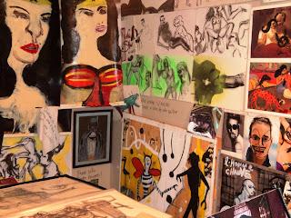 Desenhos de Conteúdo Erótico-Pornográfico - Itaú Cultural - São Paulo