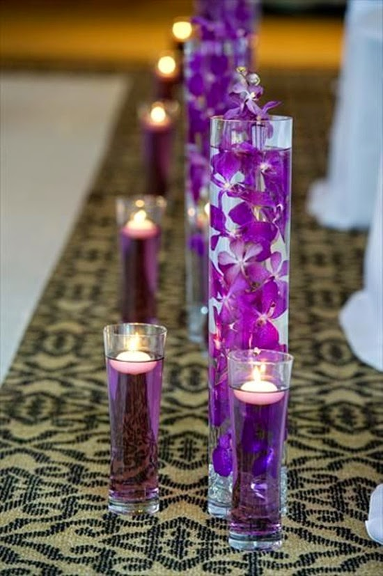 wedding floating candle centerpieces simple centerpieces ideas