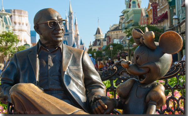Sharing the Magic Statue, Walt Disney World