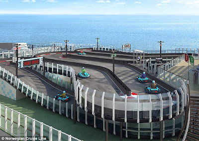 Norwegian Cruise Line's Norwegian Joy - Race Track/GoCart Track