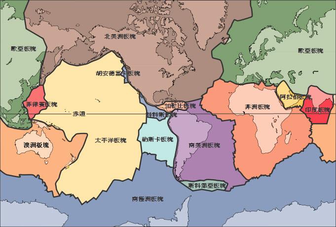 資訊分享: 地震的成因及地震帶