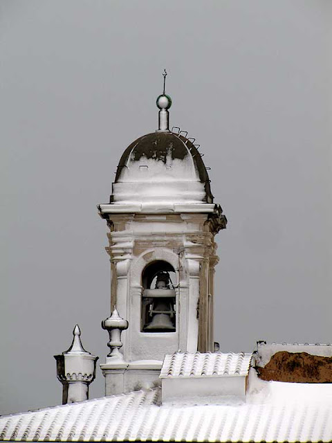 Town Hall bell tower, missing weather vane, Livorno