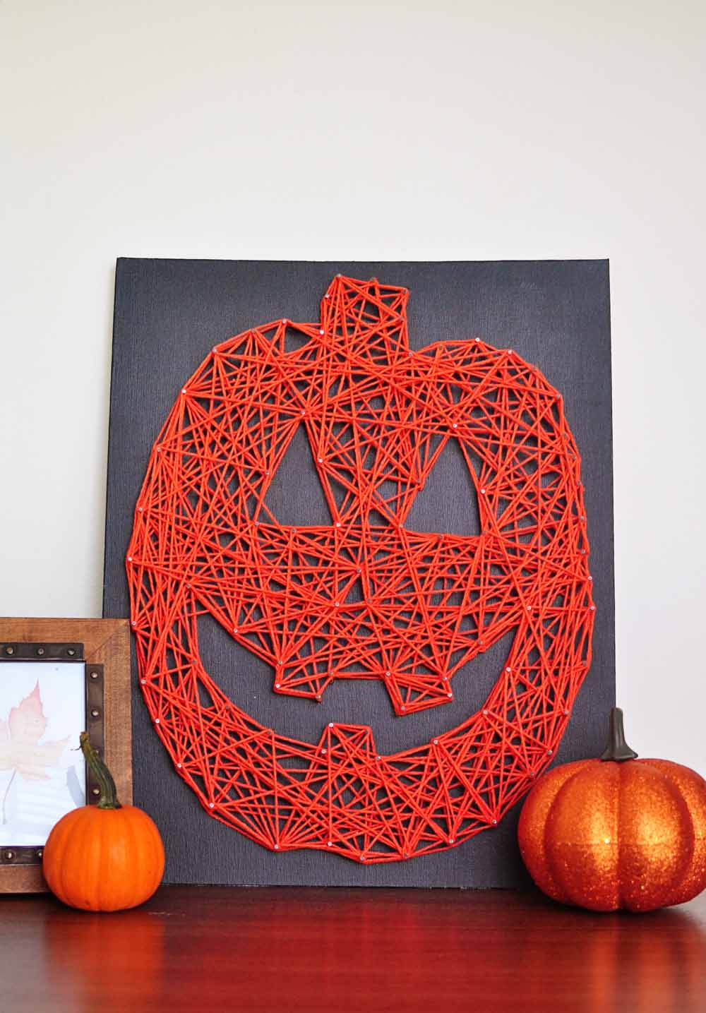 Halloween String Art : halloween, string, Little, Sloth:, Lantern, String