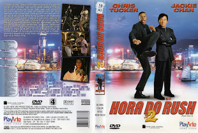 Filme A Hora do Rush 2 (Rush Hour 2) DVD Capa
