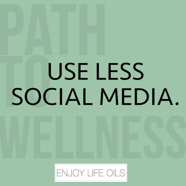 A Path to Wellness: Use Less Social Media