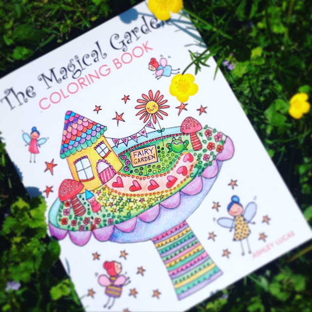 Day 11: Magical Garden Adult Coloring Book Giveaway | Linzer Lane Blog
