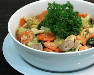 Resep Masakan Cap Cay Goreng Bakso