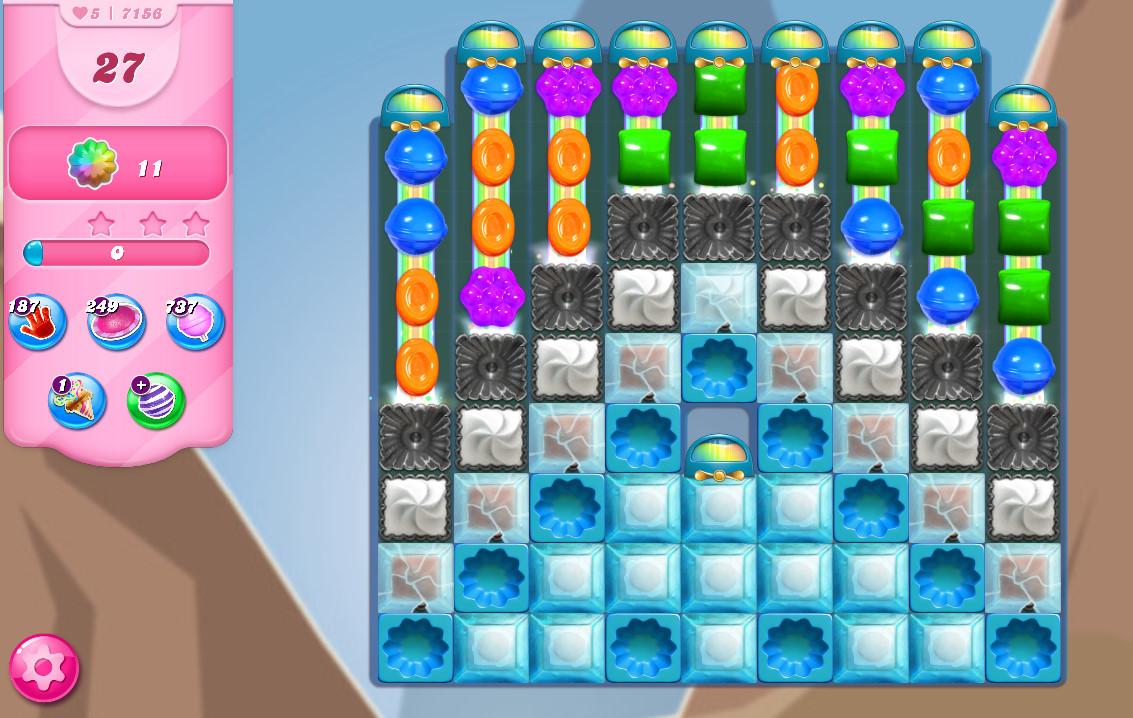 Candy Crush Saga level 7156