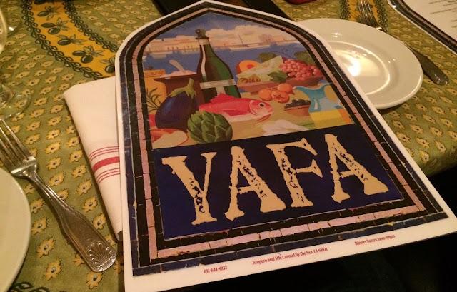 Restaurante Yafa em Carmel