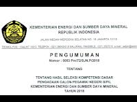 Resmi BKN: Link Pengumuman SKD CPNS 2018 Tahap Pertama